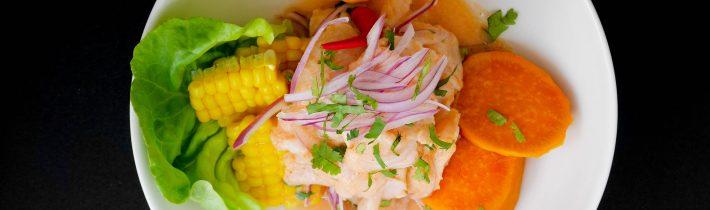 Ceviche – peruánske národné jedlo zo surovej ryby