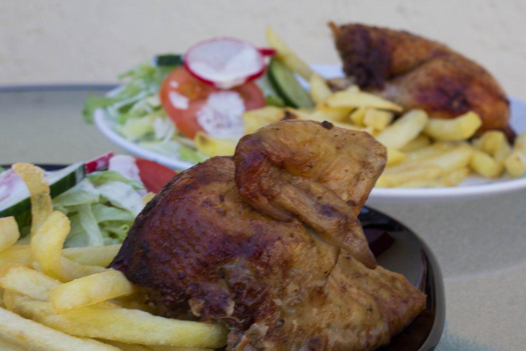 peruánske pečené kurča