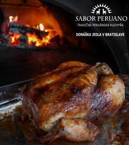 peruánske marinované kurča