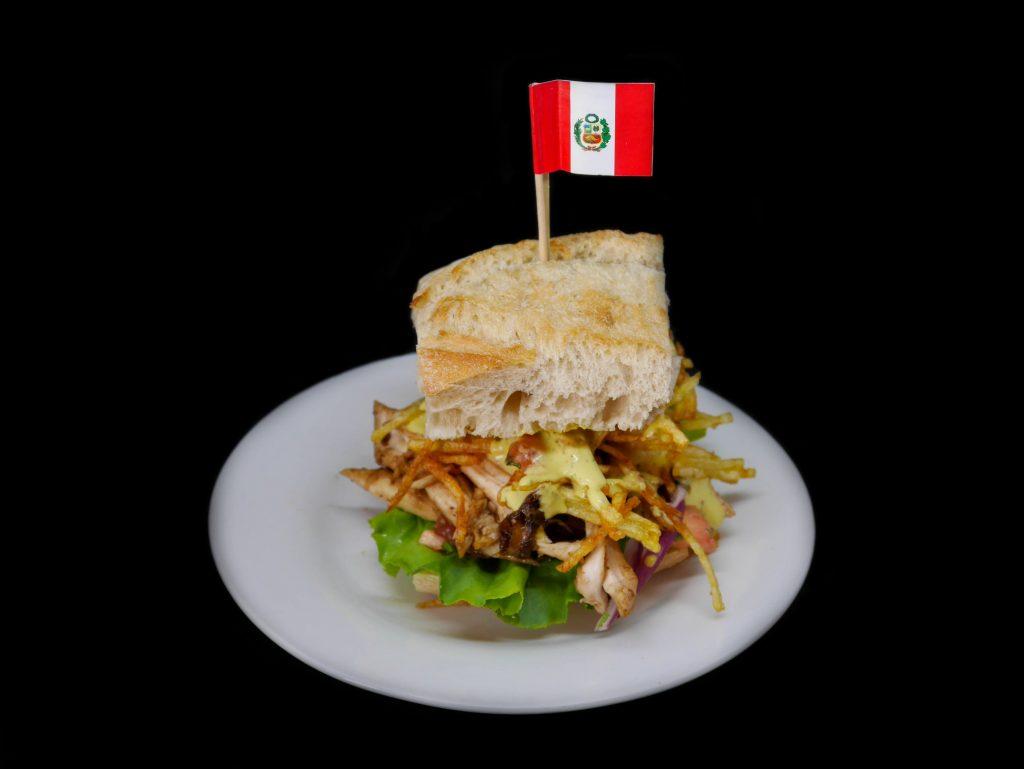 sendvič sabor peruano