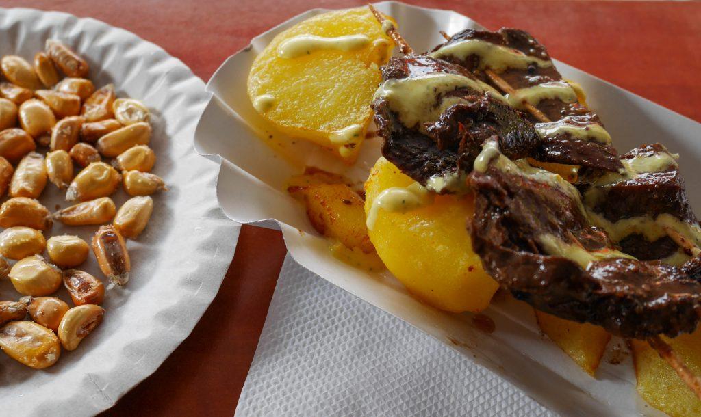 kráľ peruánskeho street foodu