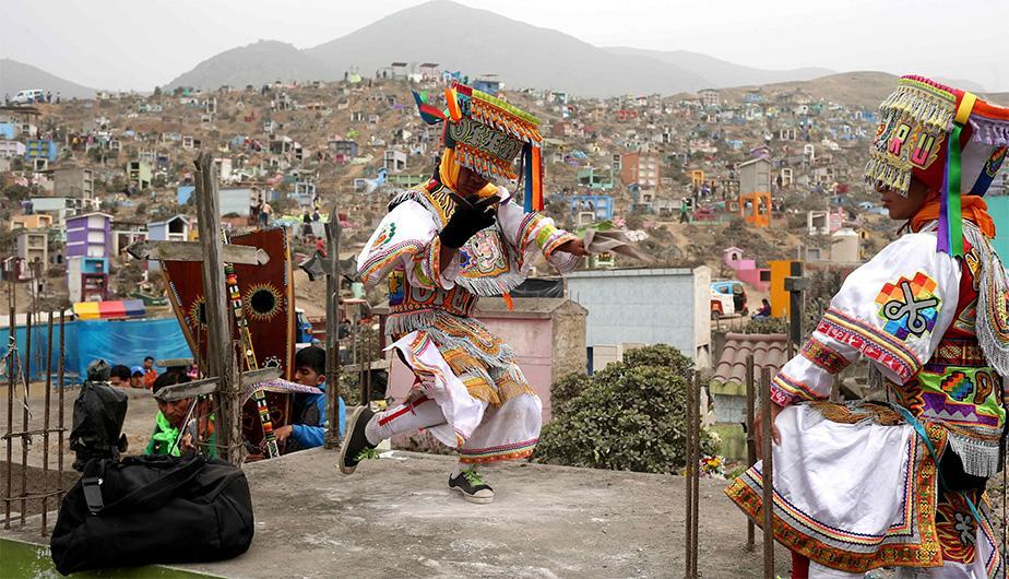 Dušičky v Peru