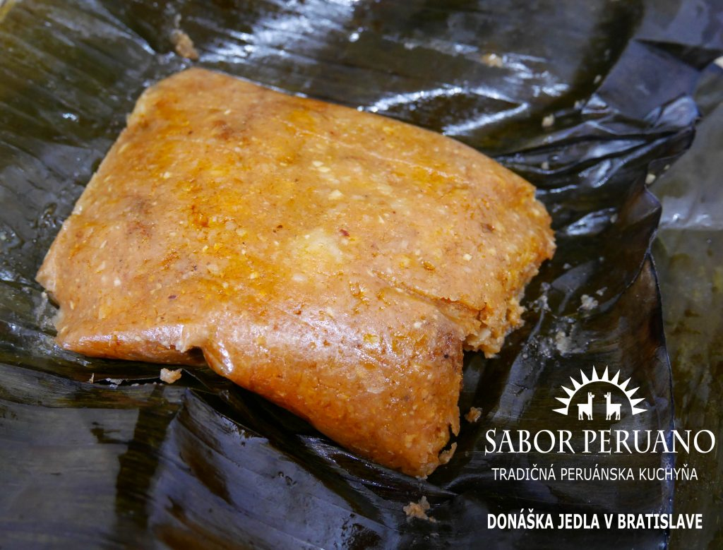 tamales sabor peruano