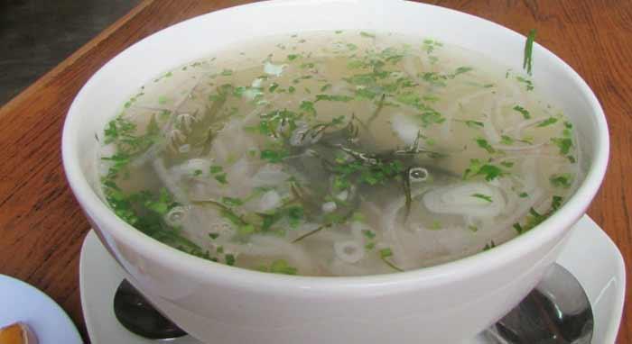 peruánska rybacia polievka