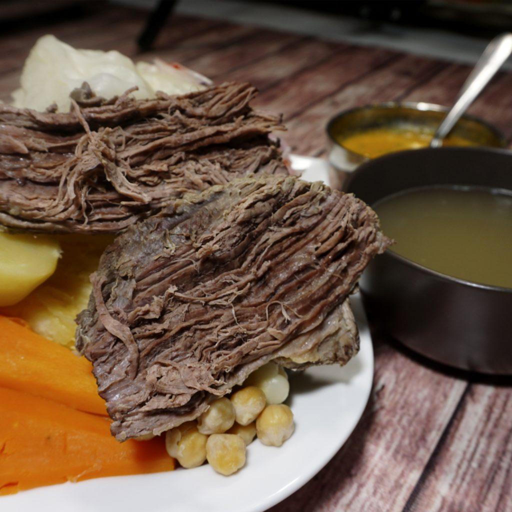 peruánska polievka sancochado