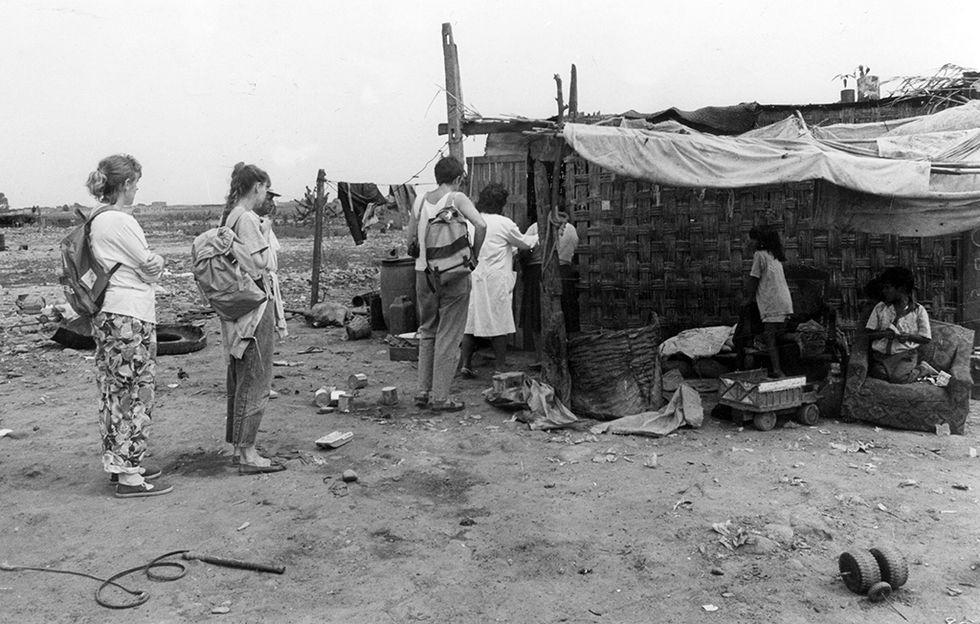 epidémia cholery v Peru