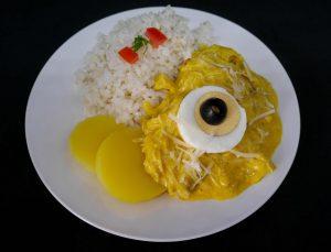Peruánske ají de gallina